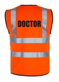 HiVis DOCTOR Vest - Orange