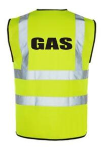 HiVis GAS Vest - Yellow