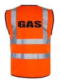 HiVis GAS Vest - Orange
