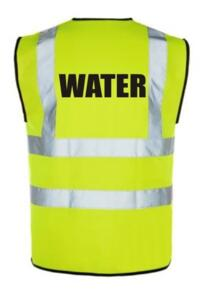 HiVis WATER Vest - Yellow