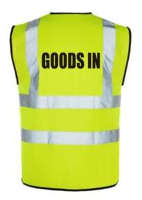 HiVis GOODS IN Vest - Yellow