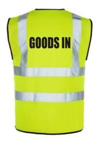 HiVis GOODS IN Vest - Yellow
