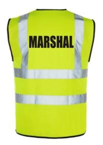 HiVis Marshal Vest - Yellow