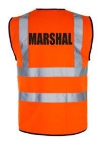 HiVis Marshal Vest - Orange