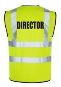 HiVis Director Vest - Yellow