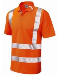Broadsands HiVis GO/RT CoolViz Plus Ultra Polo Shirt - Orange