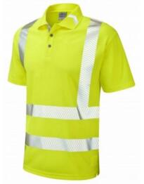 Broadsands HiVis CoolViz Plus Ultra Polo Shirt - Yellow