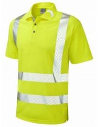 Broadsands HiVis CoolViz Plus Ultra Polo Shirt - Yellow