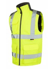 HiVis Torrington Bodywarmer - Yellow