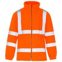 HiVis GO/RT Fleece Jacket - Orange