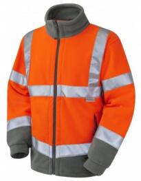 HiVis GO/RT Hartland Fleece Jacket - Orange
