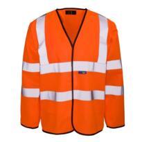 HiVis GO/RT Sleeved Vest - Orange