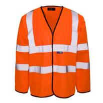 HiVis GO/RT Sleeved Vest - Orange