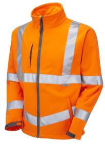 HiVis GO/RT Buckland Softshell Jacket - Orange