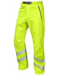 Leo HiVis Stretch Trousers - Yellow