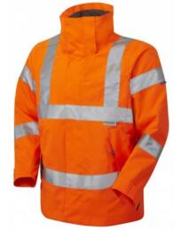 HiVis GO/RT Ladies Breathable Parka Jacket - Orange