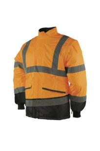 HiVis Sioen Malbro Interactive Bomber Jacket - Orange