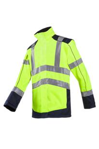 HiVis Sioen Drayton Interactive Softshell Jacket - Yellow