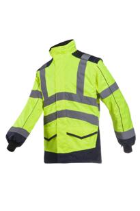 HiVis Sioen Alford Interactive Bomber Jacket - Yellow