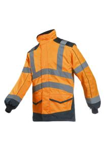 HiVis Interactive Bomber Jacket - Sioen - Orange