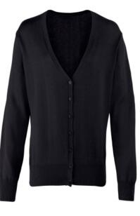 Premier Ladies Cardigan - Black