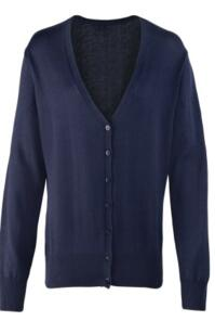 Premier Ladies Cardigan - Navy Blue