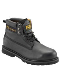 "PSF Nubuck 6"" Work Boot - Black"