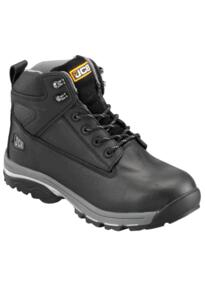 JCB F-TRACK Waterproof Work Boot - Black