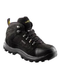Eurotec Waterproof Mid Cut Safety Boot - Black