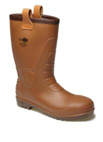 Dickies FW13200 Groundwater Safety Wellington - Brown