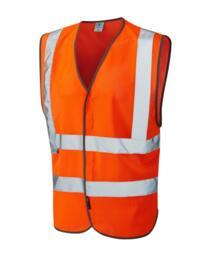 Arlington HiVis CoolViz Mesh Vest - Orange