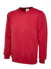 Uneek Olympic Sweatshirt - Red