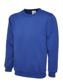 Uneek Olympic Sweatshirt - Royal Blue