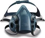 3M 7501 Silicone Half Mask - Single