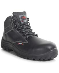 Performance Non-Metallic Ankle Safety Boots - Black