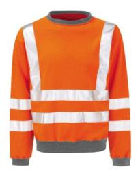 Hivis GO/RT Sweatshirt - Orange