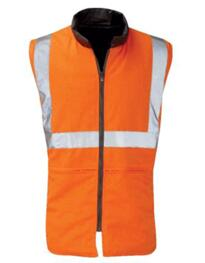 Hivis GO/RT Body Warmer - Orange