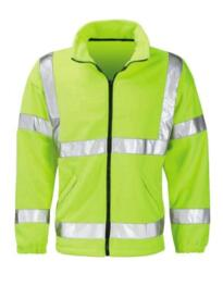 Hivis Fleece Jacket - Yellow