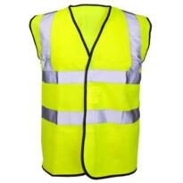 Hivis Sleeveless Vest - Yellow