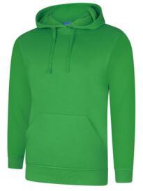 Deluxe Hooded Sweatshirt - Amazon Green