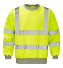 HiVis Sweatshirt - Yellow