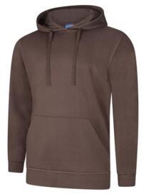 Deluxe Hooded Sweatshirt - Brown