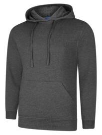 Deluxe Hooded Sweatshirt - Charcoal