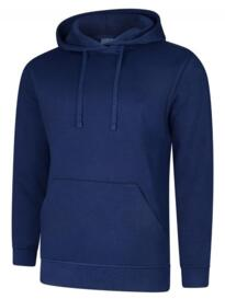Deluxe Hooded Sweatshirt - French Navy Blue