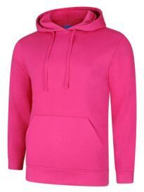 Deluxe Hooded Sweatshirt - Hot Pink
