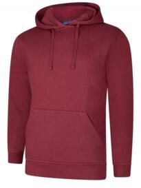 Deluxe Hooded Sweatshirt - Maroon