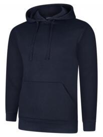 Deluxe Hooded Sweatshirt - Navy Blue
