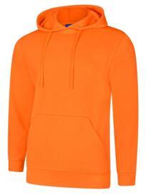 Deluxe Hooded Sweatshirt - Orange