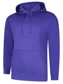 Deluxe Hooded Sweatshirt - Purple
