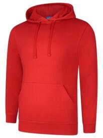 Deluxe Hooded Sweatshirt - Red